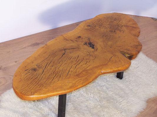 Table basse Tree Trunck vintage