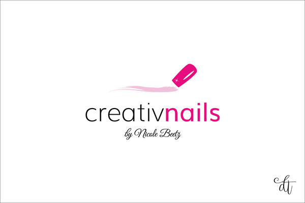 Nageldesignerin - creativnails by Nicole Beetz - 2017: Logodesign