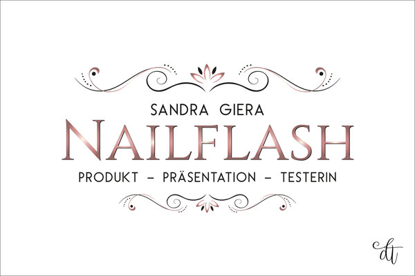 Nailflash - Sandra Giera - 2018: Beautylogo