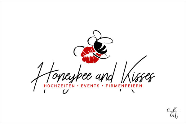 Honeybee and Kisses - Denise Weibart - 2018: Logodesign