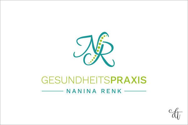 Gesundheitspraxis - Nanina Renk - 2019: Logodesign
