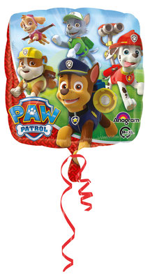 Paw Patrol - Folie, einzeln verpackt 43cm