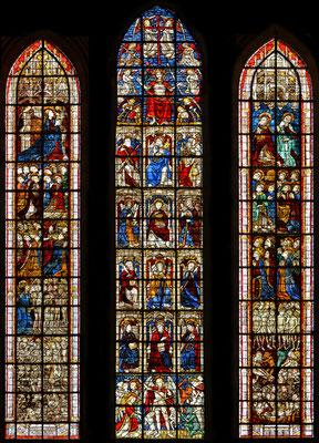 1475/1916 Coutance, Kathedrale, südl. Querhaus