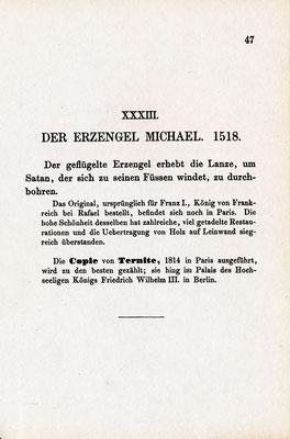 Verzeichnis der Gemälde im Raffael-Saal, Berlin 1861