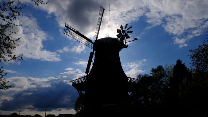 Sterrenbergmühle, Upgant-Schott © Foto: Uwe Krüger, Hannover