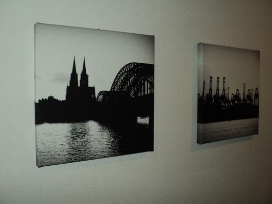 Köln, Filter: Graustufen, 30x30cm