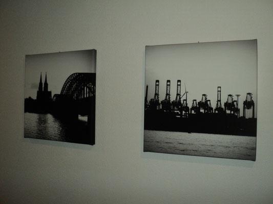 Hamburg, Filter: Graustufen, 30x30cm