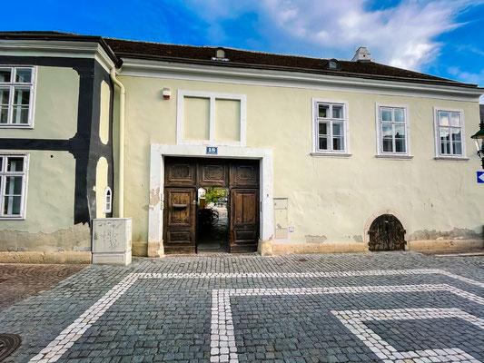 Eingang Klostergasse 18