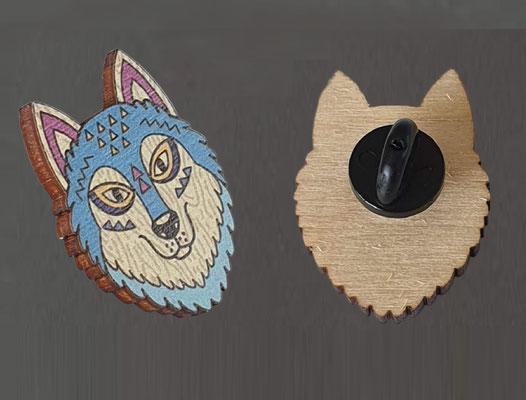 Spilla in legno
