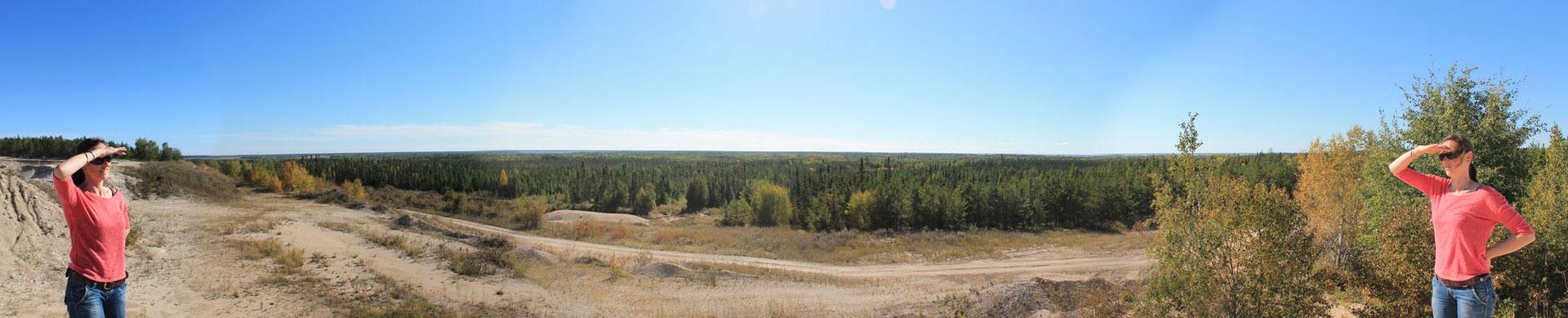 Nord-Manitoba.... Wald Wald und nochmals Wald