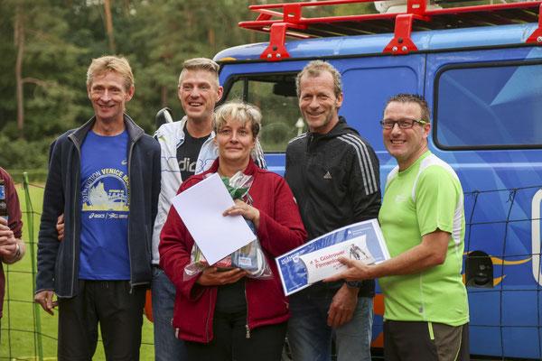 Das Team vom Reifenservice Bever belegte den dritten Platz.