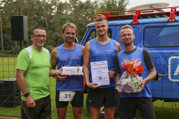 Den zweiten Platz holten sich die Läufer vom Landkreis Rostock.