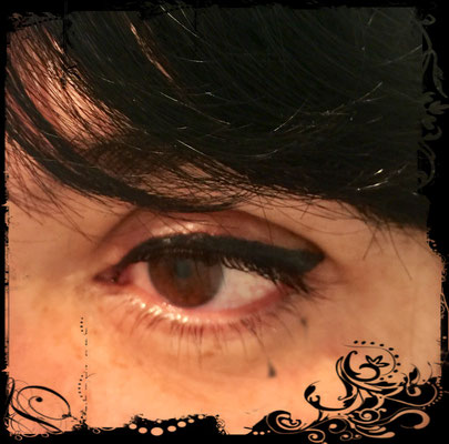 Breiter Eyeliner