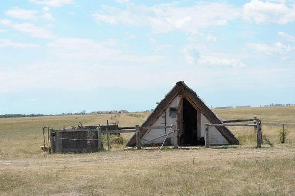 Einfache Behausung eines Hirten in der Puszta (c) Christa Brunner