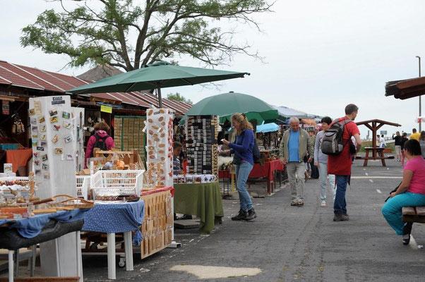 Marktleben in Hortobagy (c) Christa Brunner