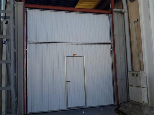 Garaje industria comercial puertas autom ticas elche alicante murcia - Puertas de garaje murcia ...