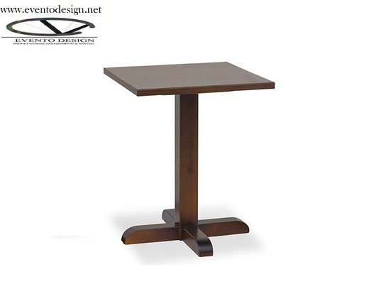 art.26 tavolo 70x70x3 base a torre singola