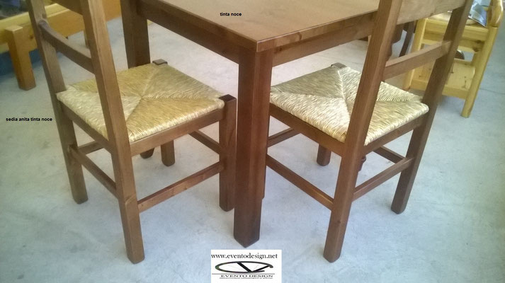 sedia anita sedile paglia