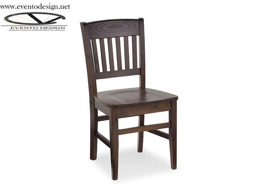 art.07 sedia veronica tinta wenge-legno pino