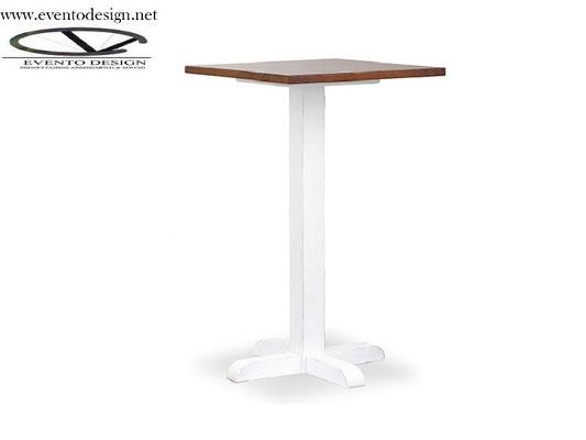 art.29 tavolo 130x70x3base a torre h.110