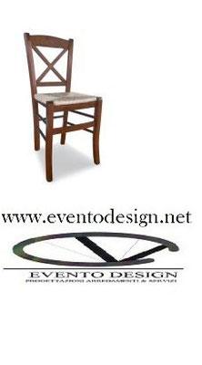 sedia venezia  x   massello  +iva +trasporto, in paglia +iva +trasporto, imbottita euro 6,45