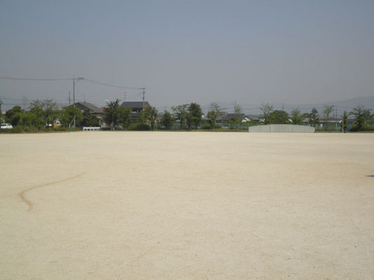 JGS施工 公園A 雑草はほとんど確認できない状態 非常に高い評価をいただいてます。