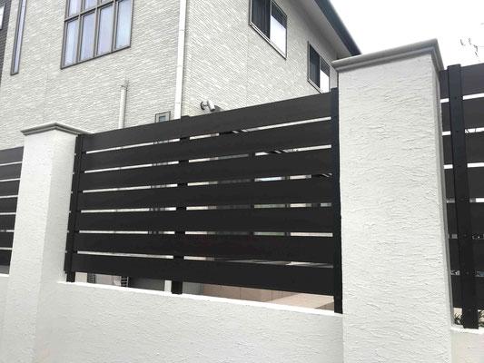 木調樹脂フェンスは最大限再利用
