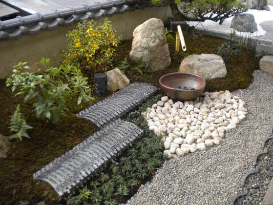 瓦景石の庭
