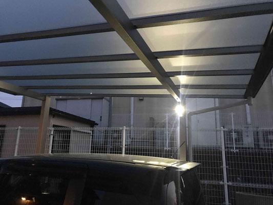 エクステリアライト・ガーデンライト・カーポートライト(センサーライト)