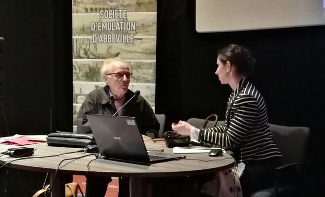 Les hôtels particuliers abbevillois du XVIIIe siècle, conférence par Margaux Trouvé, historien de l'art