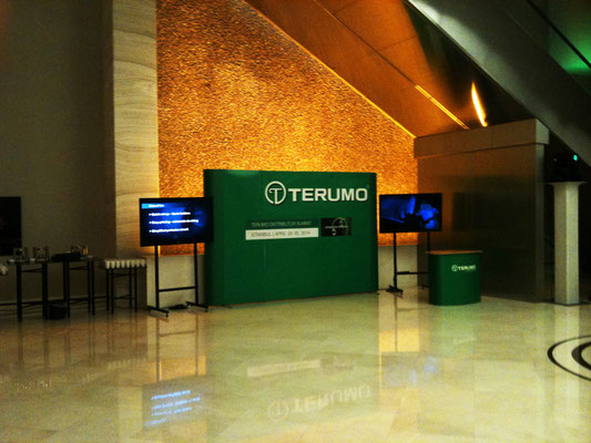 TERUMO - Distributor Summit in Istanbul - Entrance