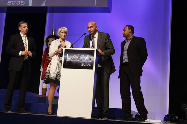 Preisträger des LARA Award u.a. Ralf Jäger und Ibrahim Grundner  - Köln