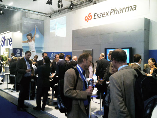 Essex Pharma - Messestand Gastroenterologie Kongress in Hamburg