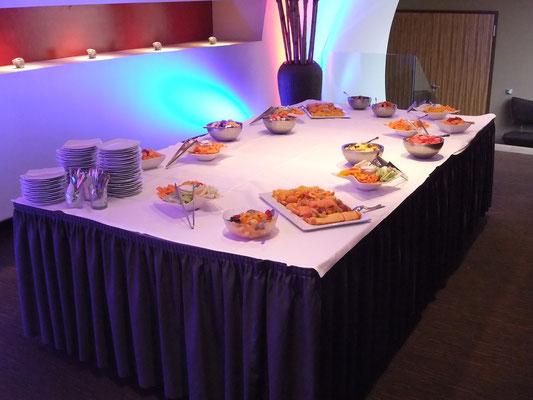 Bristol-Myers Squibb Incentive im East Hotel Hamburg - Buffet