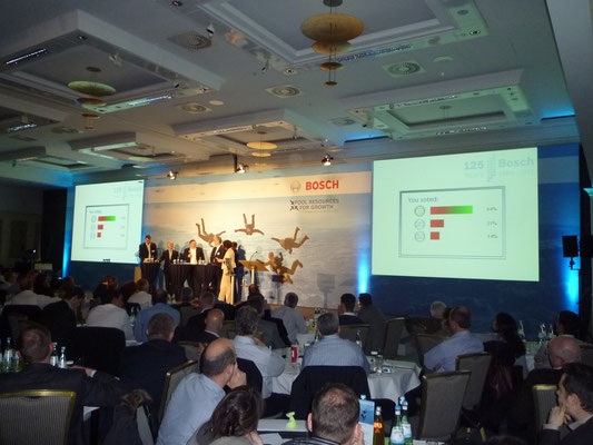 BOSCH TT Summit in Berlin - Abstimmung/ Voting
