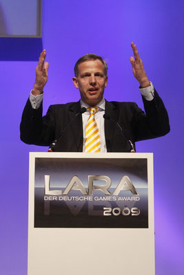 LARA Award - Preisverleihung und Laudatio durch Minister Andreas Krautscheid - Köln