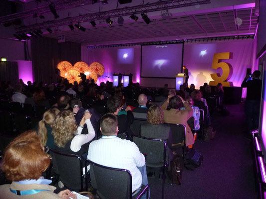 Rosche - Deutscher Krebskongress - Moderation Aiman Abdallah .. Laser Game Show - Berlin