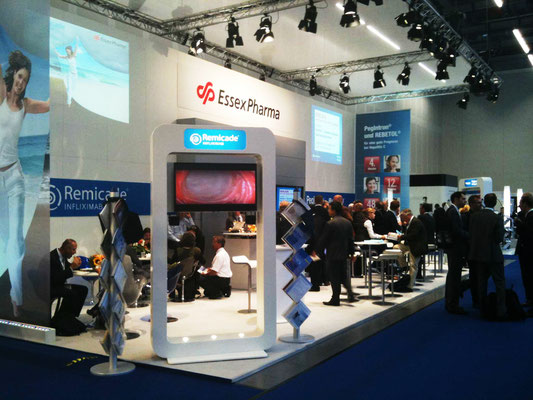 Essex Pharma - Messestand Gastroenterologie Kongress in Hamburg