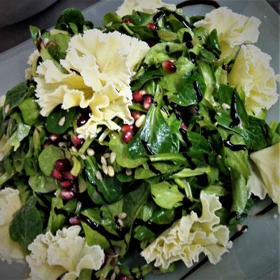 Feldsalat mit Tete Moint