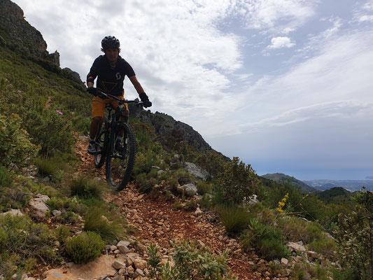 Biken in der Region Guadalest