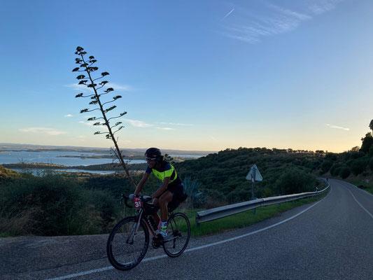 unterwegs beim BikingMan Portugal