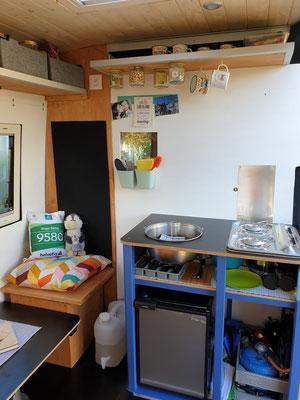 Unsere Wohnküche- und Stube
