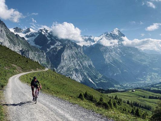 Making-Off Fotoshooting Grosse Scheidegg
