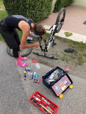 Bikepflege
