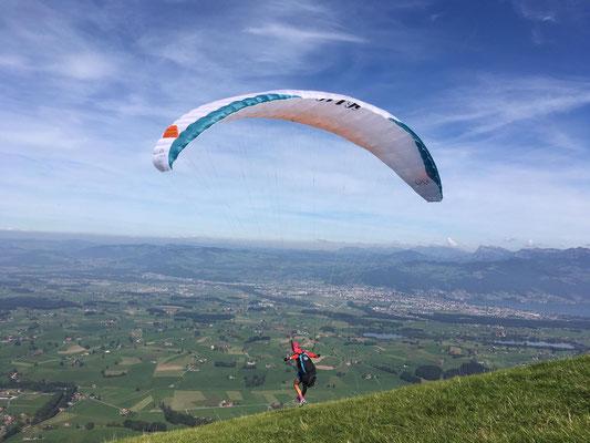Hike & Fly im Berner Oberland