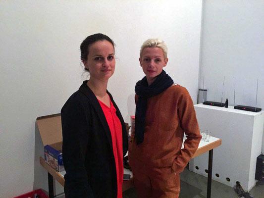 Olivia Franke und Christina Steinbrecher-Pfandt