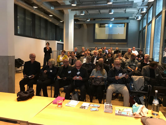 Gefüllter Vortragsreihen im ZKM in Karlsruhe
