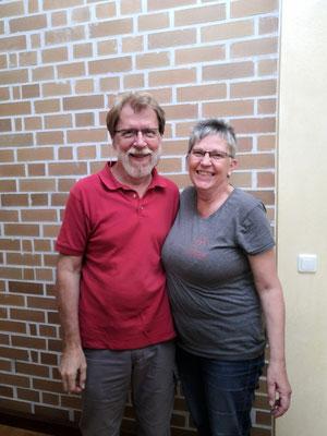 Die beiden Hotelgründer und Besitzer Jürg Gloor und Sabine Stange