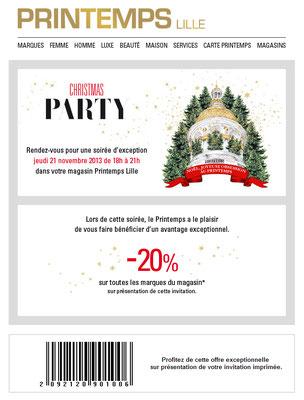 Offres Newsletter Noël