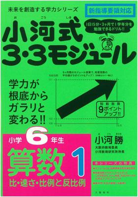 『未来を創造する学力シリーズ 小河式3・3モジュール 6年生算数1』